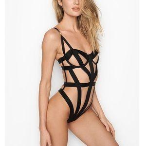 Victoria's Secret limited edition bondage teddy